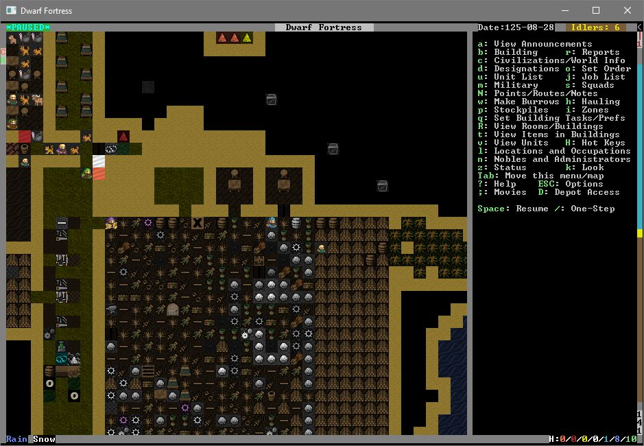 Part 5 Dwarf Fortress Analysis Of Room Types In Games